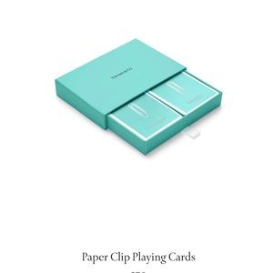 """Tiffany """"Paperclip"""" Cards"""
